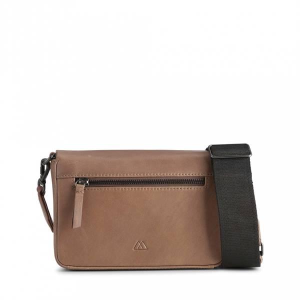 Markberg Vanya Knot Crossbody Bag Antique Carmel Black